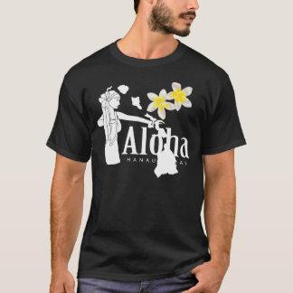 Aloha Hawaii Islands Plumeria Flower T-Shirt