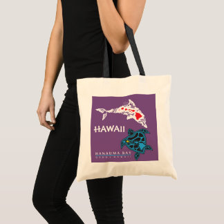Aloha Hawaii Islands Tote Bag