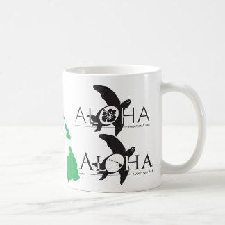 Aloha Hawaii Islands Turtles (Honu) Coffee Mug