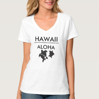 Aloha Hawaii Islands Turtles T-Shirt