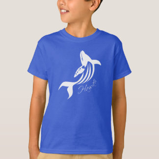 Aloha Hawaii Islands Whale T-Shirt