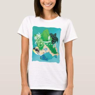 Aloha Hawaii Oahu Island T-Shirt
