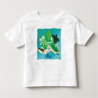 Aloha Hawaii Oahu Island Toddler T-shirt