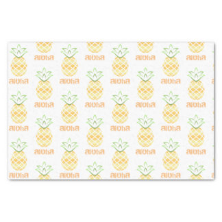 Aloha Hawaii Pineapple tissue paper - gift, party