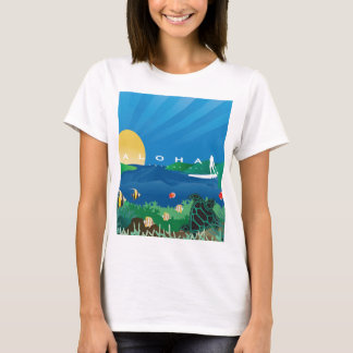 Aloha Hawaii Surfing 146 T-Shirt