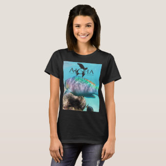 Aloha Hawaii Turtle and Butterfly Fish T-Shirt