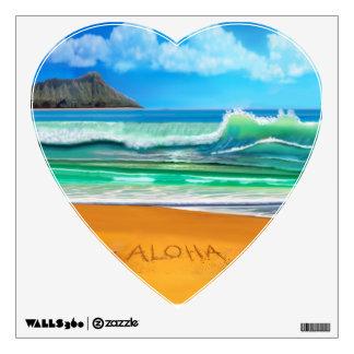 Aloha Hawaii Wall Sticker