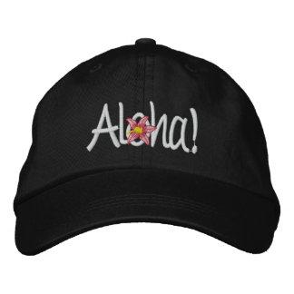 Aloha Hawaiian Embroidered Hat