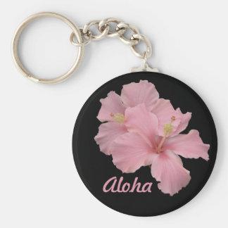 Aloha Hawaiian Hibiscus Key Chain