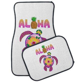 Aloha Hawaiian Honu Turtle Car Mat