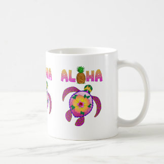 Aloha Hawaiian Honu Turtle Coffee Mug