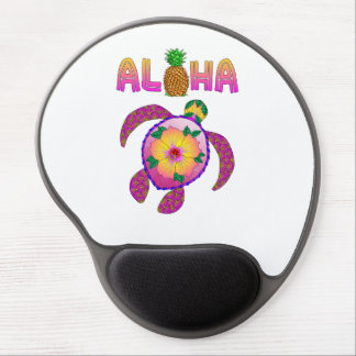 Aloha Hawaiian Honu Turtle Gel Mouse Pad
