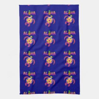 Aloha Hawaiian Honu Turtle Kitchen Towel