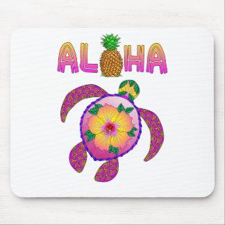Aloha Hawaiian Honu Turtle Mouse Pad