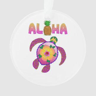 Aloha Hawaiian Honu Turtle Ornament