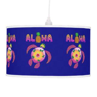 Aloha Hawaiian Honu Turtle Pendant Lamp
