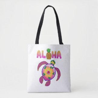 Aloha Hawaiian Honu Turtle Tote Bag