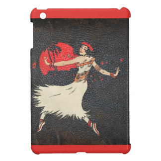 Aloha Hawaiian Luau Tropical Vintage Hula Girl iPad Mini Cases