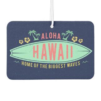 Aloha Hawaiian Surfer car air freshner Car Air Freshener