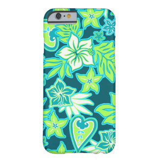 Aloha Heart Hawaiian Hibiscus Tropical Barely There iPhone 6 Case