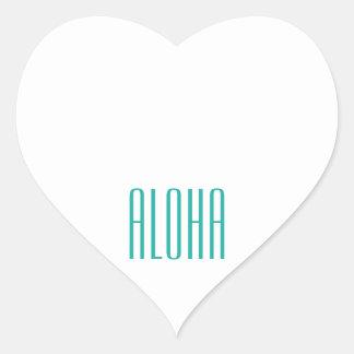 Aloha Heart Sticker