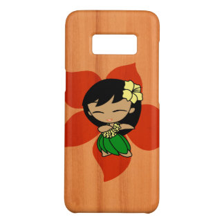 Aloha Honeys Hawaiian Hula Girl Faux Wood Case-Mate Samsung Galaxy S8 Case