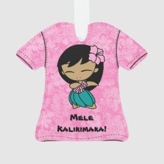 Aloha Honeys Mele Kalikimaka Hawaiian Aloha Shirt Ornament