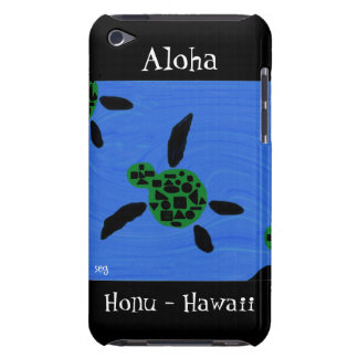 Aloha Honu Hawaiian Sea Turtle Barely There iPod T iPod Case-Mate Case