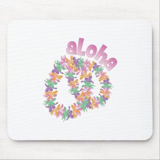 Aloha Lei Mouse Pad