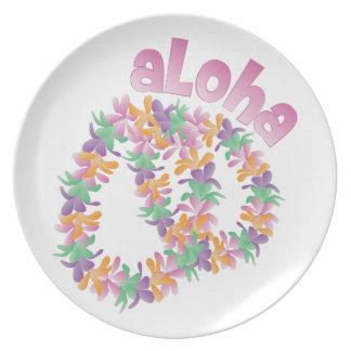 Aloha Lei Plates