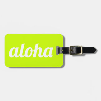 Aloha! Luggage Tag