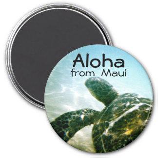 Aloha Maui Sea Turtle Magnet