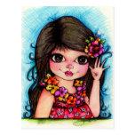 Aloha My Friends...Hawaiian Sunshine and Fun Post Card