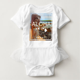 Aloha No 50 Tiki Baby Bodysuit