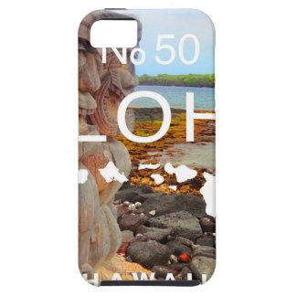 Aloha No 50 Tiki iPhone 5 Case