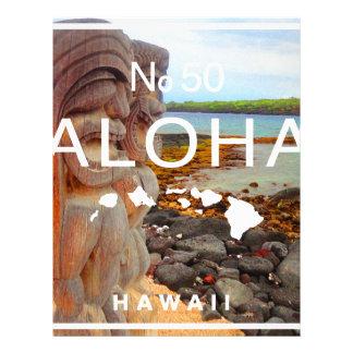 Aloha No 50 Tiki Letterhead