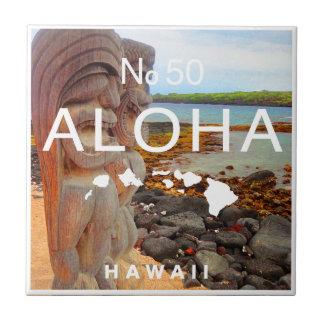 Aloha No 50 Tiki Tile