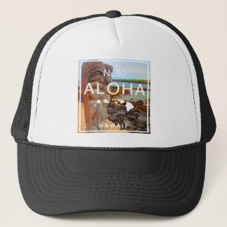 Aloha No 50 Tiki Trucker Hat