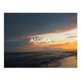Aloha, Oahu. Postcard