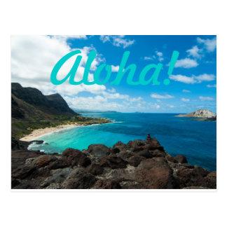 Aloha Ocean Postcard