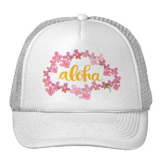 Aloha Orchid Lei Trucker Hat
