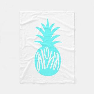 Aloha pineapple blanket