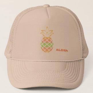 Aloha Pineapple Hat, Trucker Trucker Hat