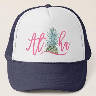 Aloha Pineapple Trucker Hat