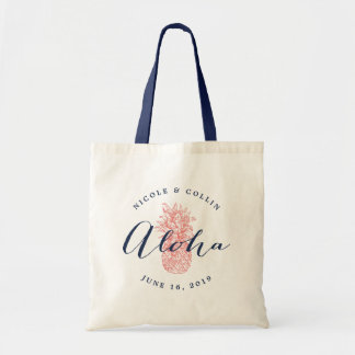 Aloha Pineapple Wedding Welcome Bag