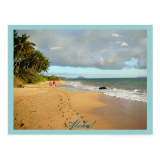 Aloha! Postcard
