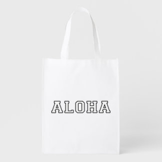 Aloha Reusable Grocery Bag