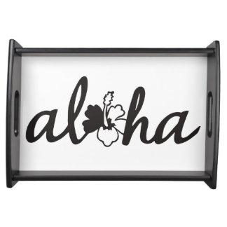 Aloha serving tray
