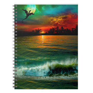 Aloha Shifters dragon notebook