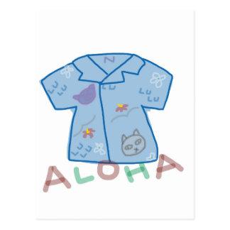 aloha Shirt postcard